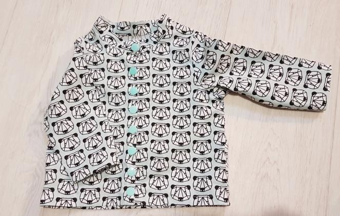 Madame Anne-So_Couture Chemise à col MAO