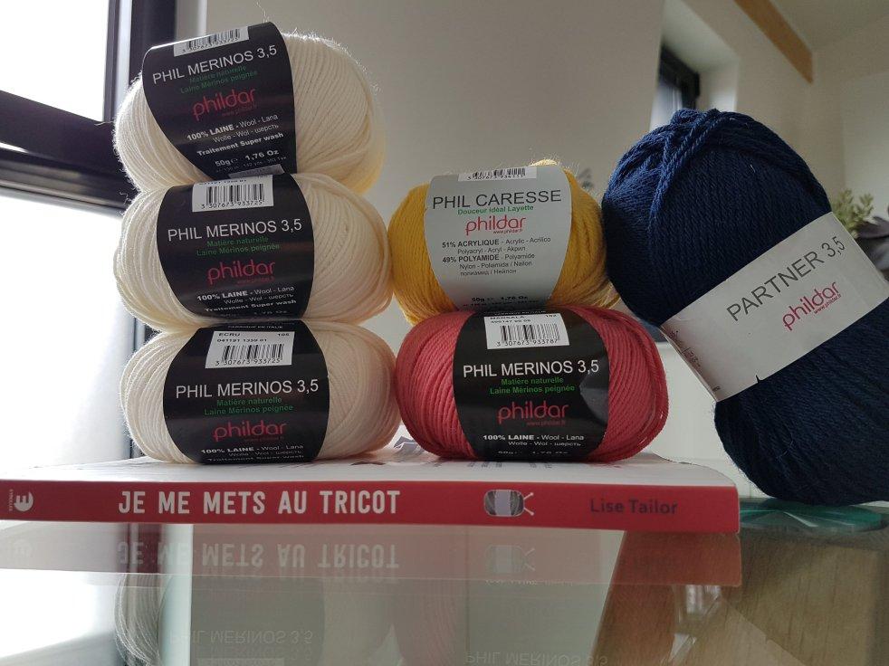 Madame Anne So Laines Pull Marieke 1 tricot