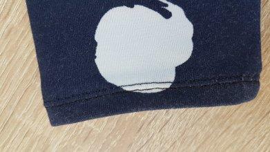 Madame AnneSo_T-shirt bébé détail ourlet aiguille double